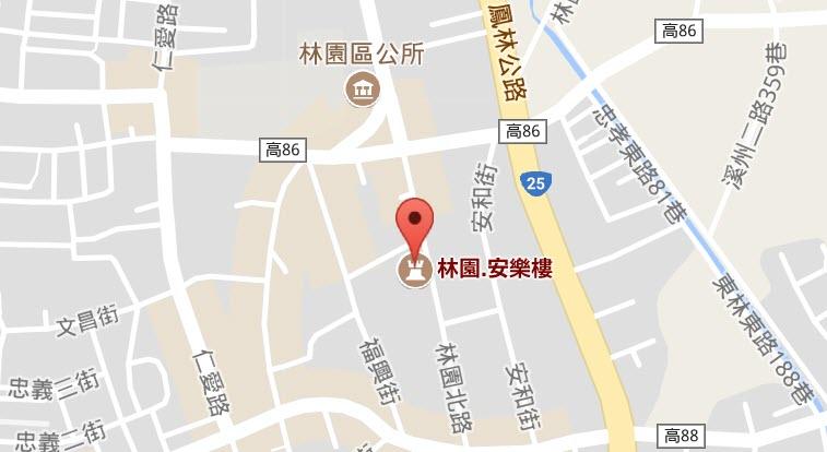 安樂樓map