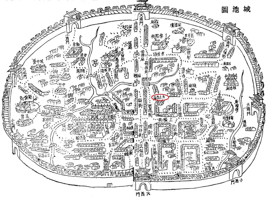 府城舊地圖