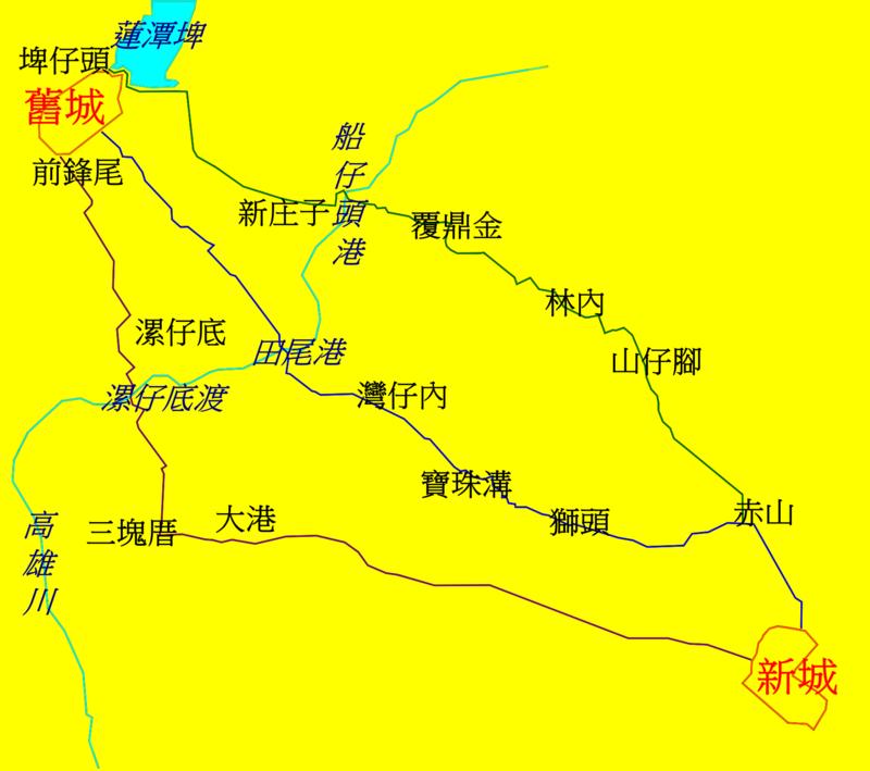 雙城路線圖