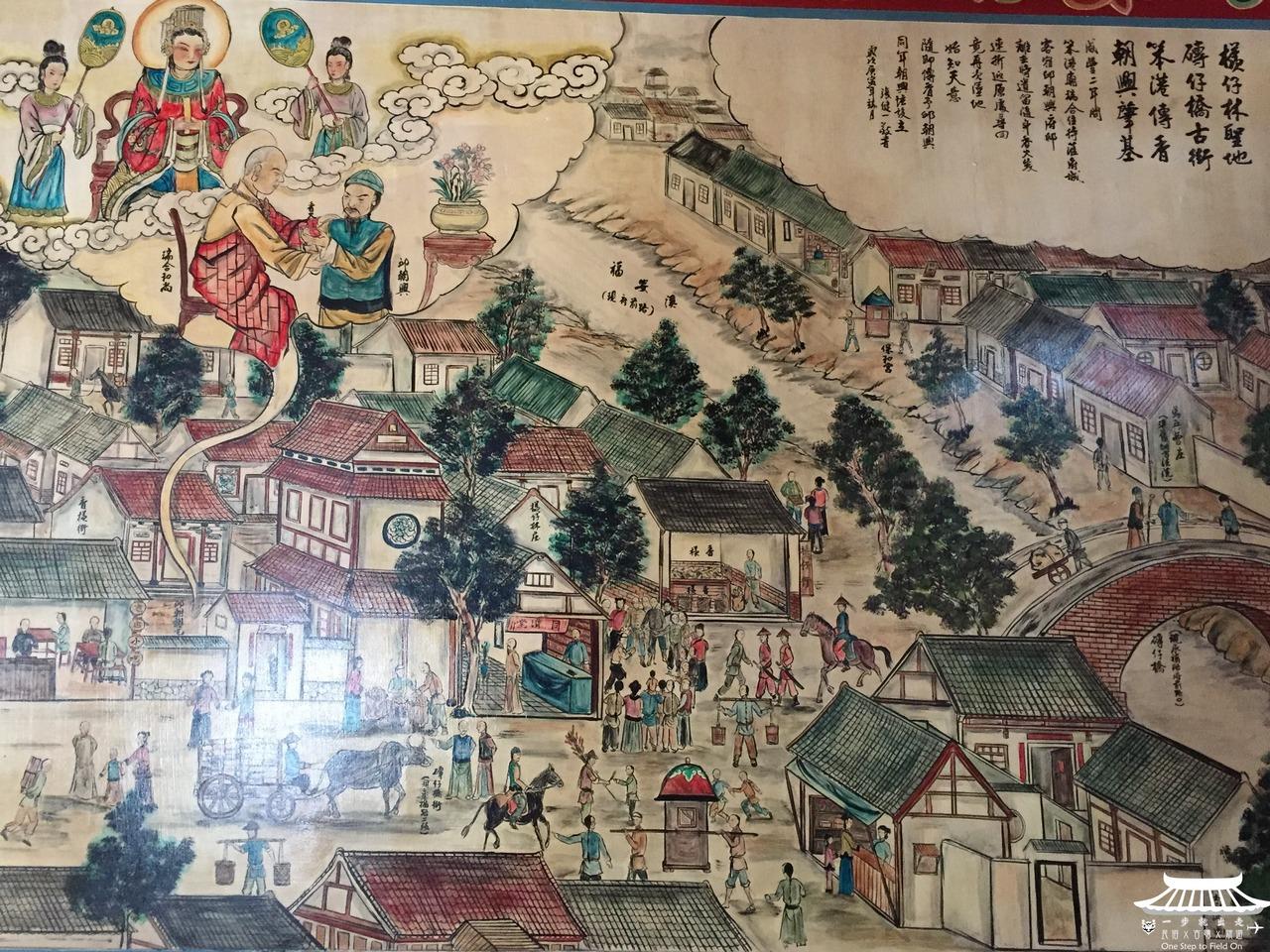 朝興宮壁畫