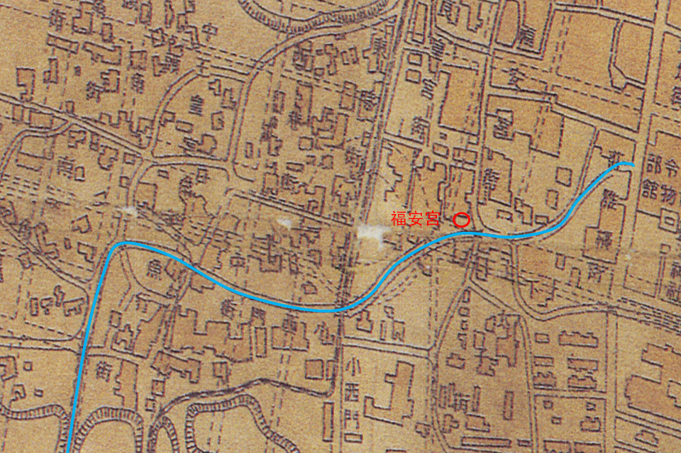 福安坑溪支流