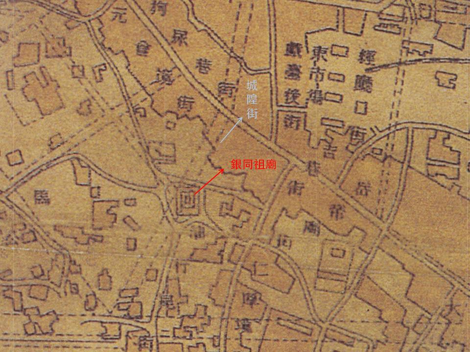 1915台南市全圖