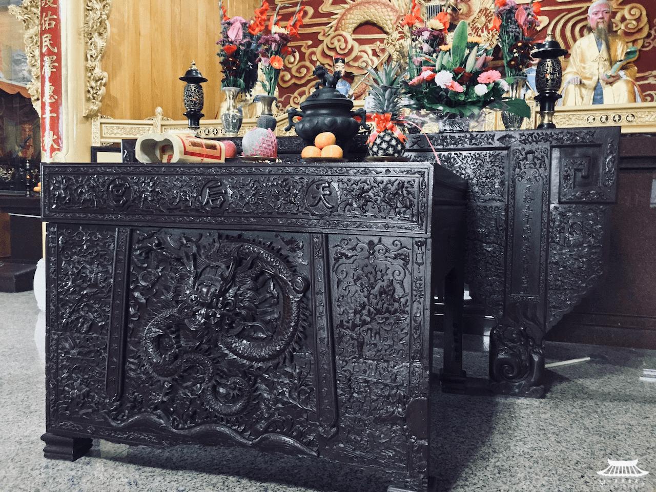天后宮贈竹峰寺頂下桌