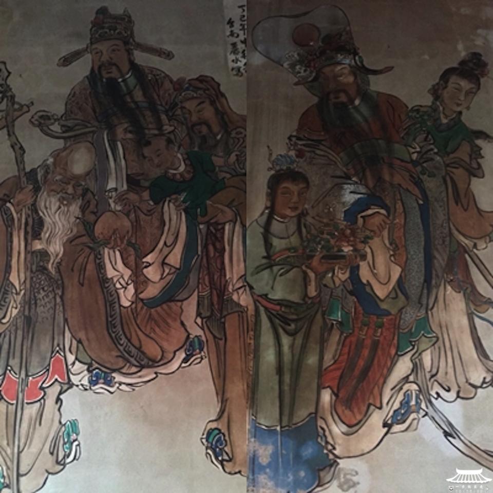 天木宮壁畫