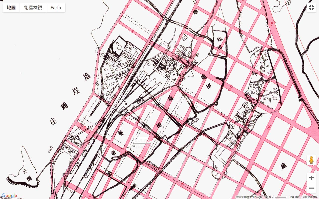 打狗市區改正計畫圖(1912)