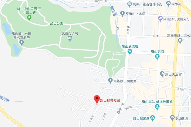 森安殿位址