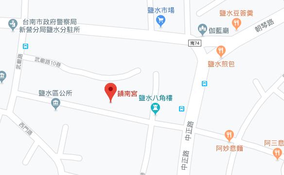 月港鎮南宮位址