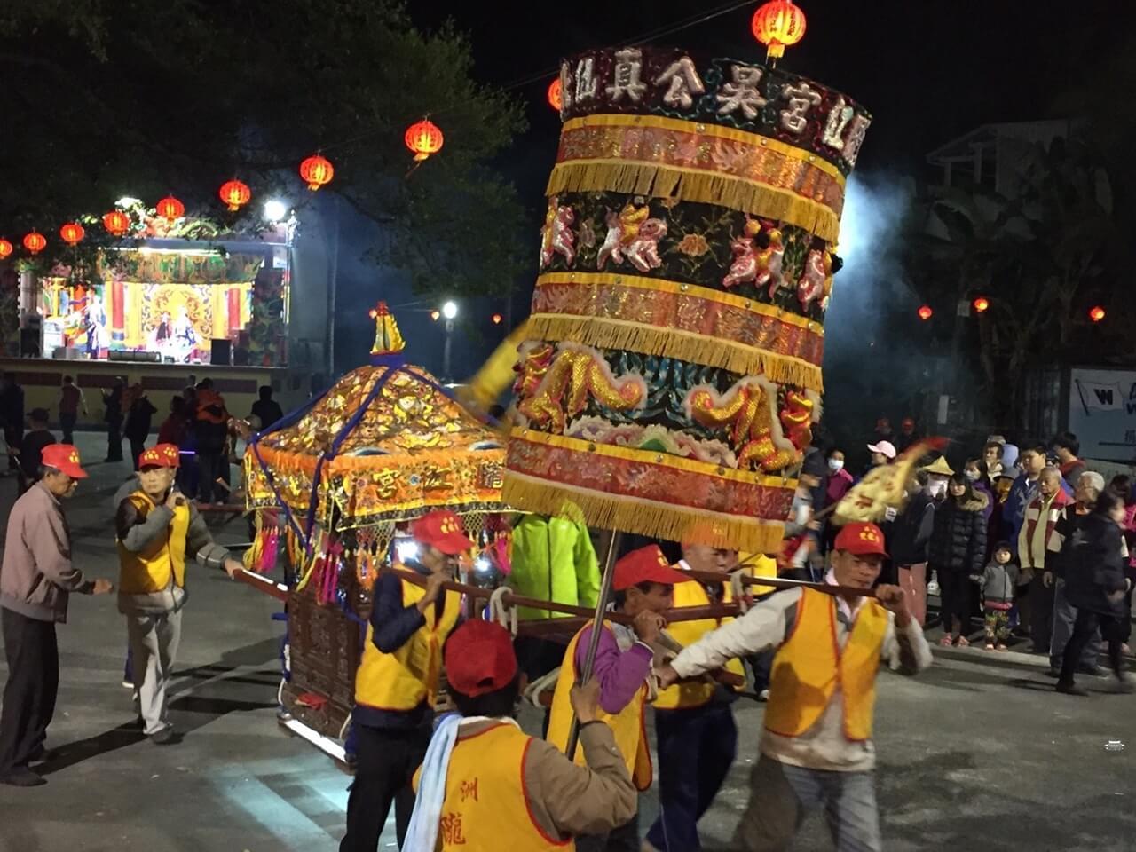 隴江宮神轎
